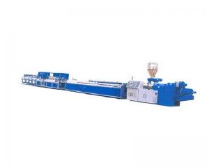 PVC阳角线-阴角线挤出机生产线