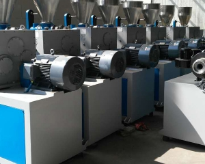 Twin screw extruder finished product