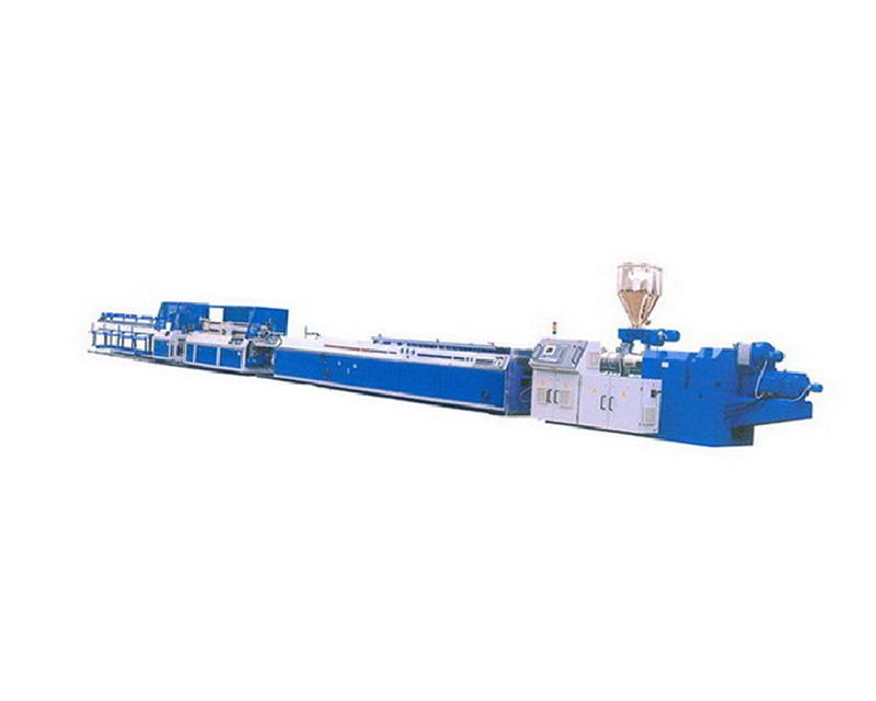 PVC male angle line - Yin Kok line extruder production line
