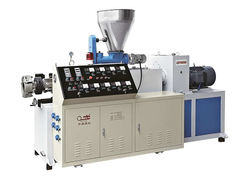 SJSZ series of conical double-screw extruderSJSZ series of conical double-screw extruder